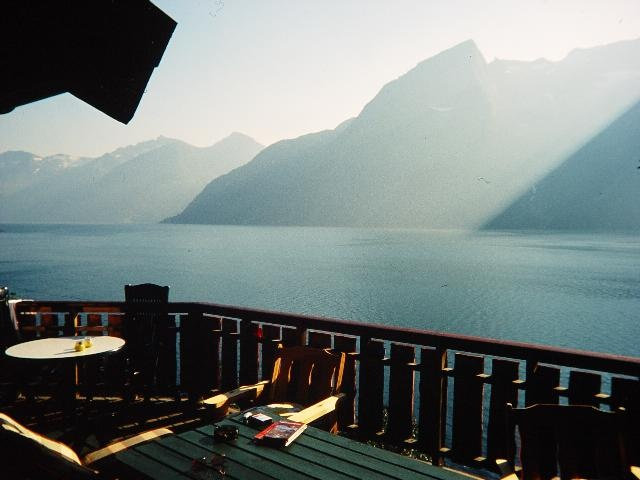 trandal fjordhytter ferienhaus am fjord in norwegen. Black Bedroom Furniture Sets. Home Design Ideas